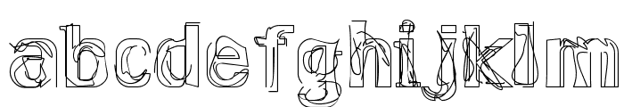 Lakestreet Font LOWERCASE