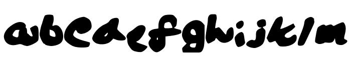Lalaland Font LOWERCASE