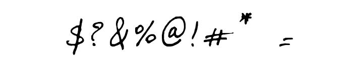 Lalex Big Badaboum Font OTHER CHARS