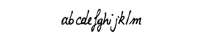 Lalex Big Badaboum Font LOWERCASE