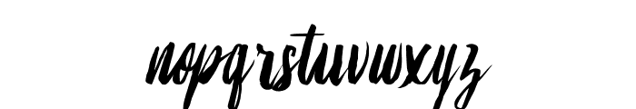 Lambaretta Font LOWERCASE