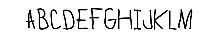 Lamia Medium Font UPPERCASE