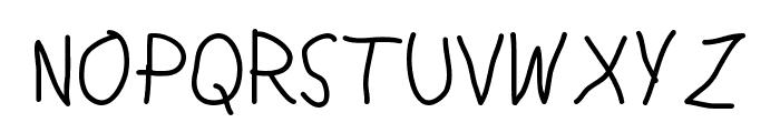Lamia Medium Font LOWERCASE