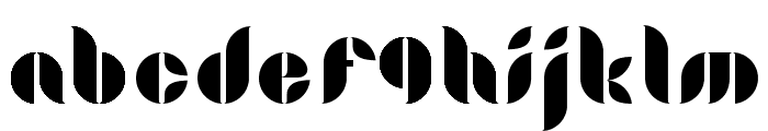 LamiaRegular Font LOWERCASE