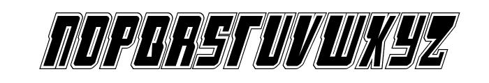 Lamprey Academy Italic Font UPPERCASE