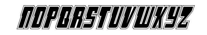 Lamprey Academy Italic Font LOWERCASE