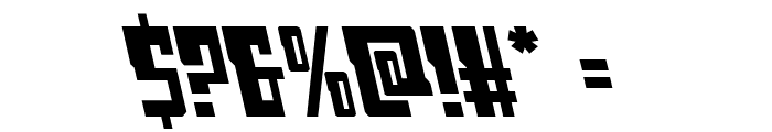 Lamprey Leftalic Font OTHER CHARS