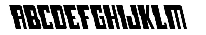 Lamprey Leftalic Font LOWERCASE