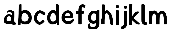 Lampshade Narrow Font LOWERCASE