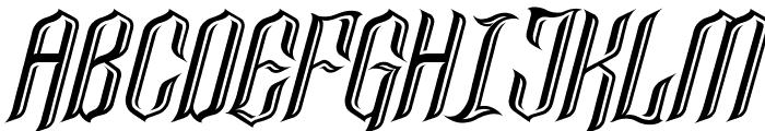 Lancaster Castle Font UPPERCASE