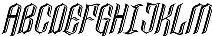 LancasterCastle Font UPPERCASE