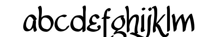 Lancastershire Font LOWERCASE