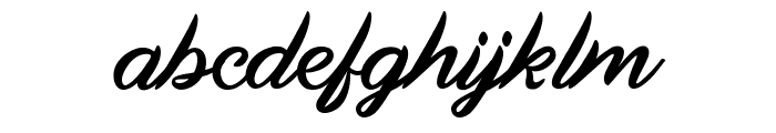 Land Of Laugh Font LOWERCASE
