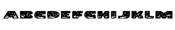 Land Shark Expanded Font UPPERCASE