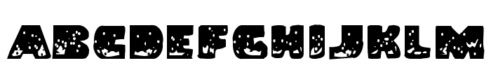 Land Shark Grunge Font LOWERCASE