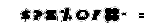 Land Whale Pro Font OTHER CHARS