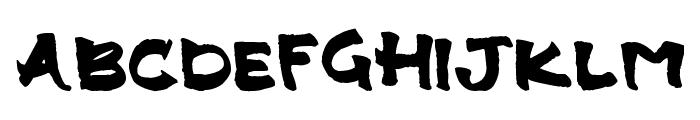 Landie Font UPPERCASE
