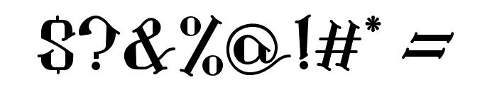 Landon Regular Font OTHER CHARS