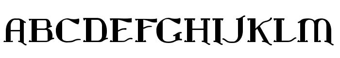 Landon Regular Font UPPERCASE