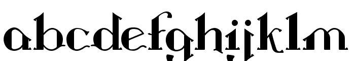 Landon Regular Font LOWERCASE