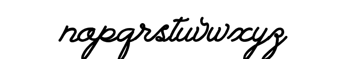 Landscape PERSONAL USE Font LOWERCASE