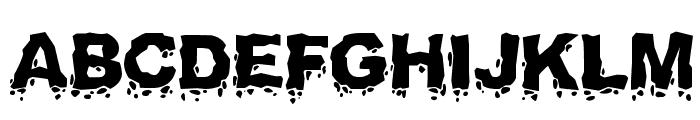 Landslide Font UPPERCASE