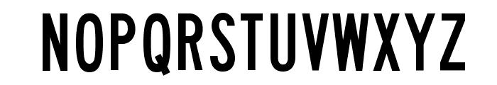 Lane A Font UPPERCASE