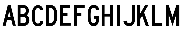 Lane B Font LOWERCASE