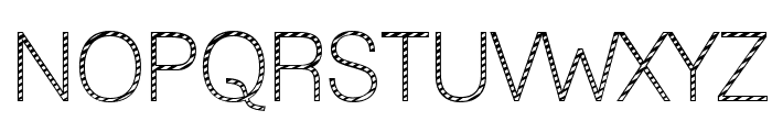 Lane - Cane Font UPPERCASE