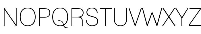 Lane - Narrow Font UPPERCASE
