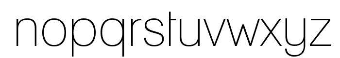 Lane - Narrow Font LOWERCASE