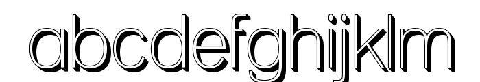 Lane - Posh Font LOWERCASE