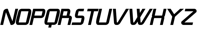 Lang? BoldItalic Font UPPERCASE