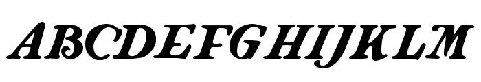 Langhorne Font UPPERCASE