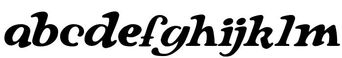 Langhorne Font LOWERCASE