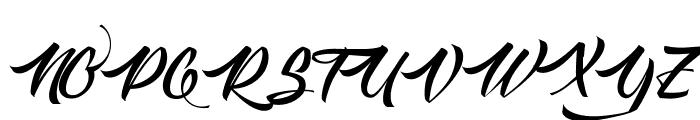 Langoustine Font UPPERCASE