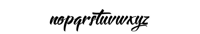 Langoustine Font LOWERCASE