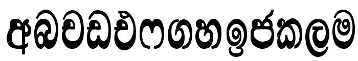 Lankanatha Font LOWERCASE