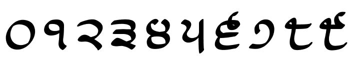 Lanma Script Medium Font OTHER CHARS