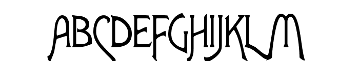 Lansbury FG Font UPPERCASE