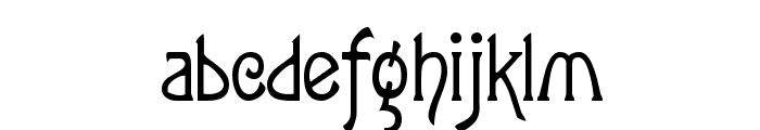 Lansbury FG Font LOWERCASE