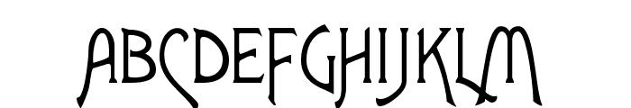 Lansbury Font UPPERCASE