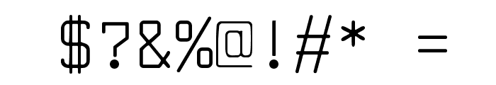 Larabiefont Font OTHER CHARS