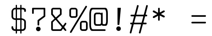 LarabiefontRg-Regular Font OTHER CHARS