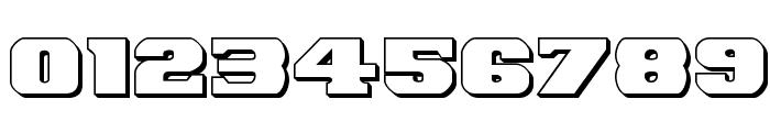 Laredo Trail 3D Regular Font OTHER CHARS
