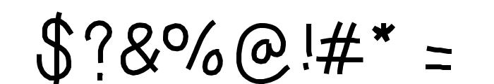 LargeFont Font OTHER CHARS
