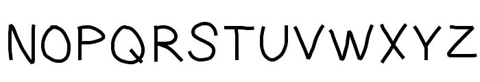 LargeFont Font UPPERCASE