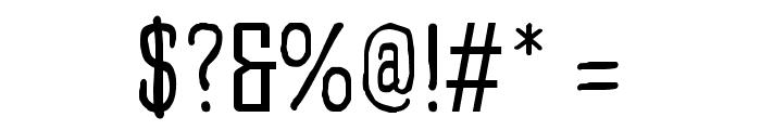 Larispol Handwritten Regular Font OTHER CHARS