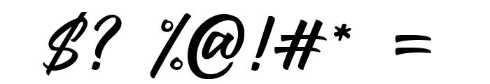 LarizoDEMO Font OTHER CHARS