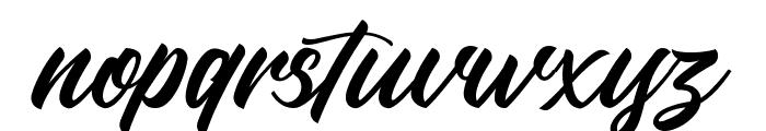 LarizoDEMO Font LOWERCASE